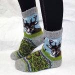 J-1 Женские шерстяные носки
