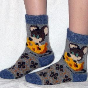 J-11 Женские шерстяные носки