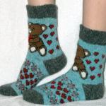 J-12 Женские шерстяные носки