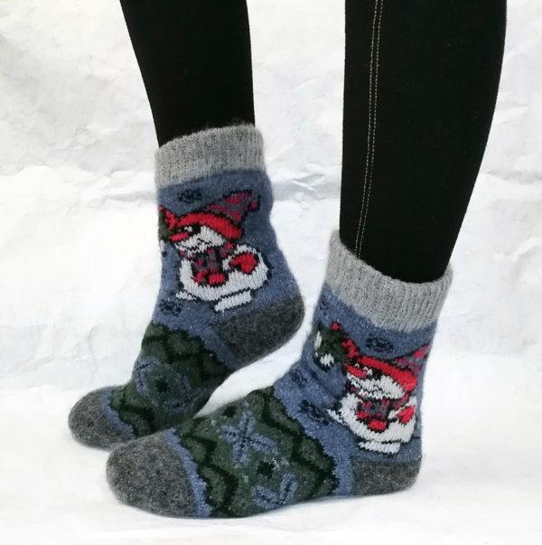 J-13-1 Женские шерстяные носки