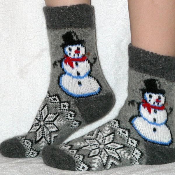 J-13 Женские шерстяные носки