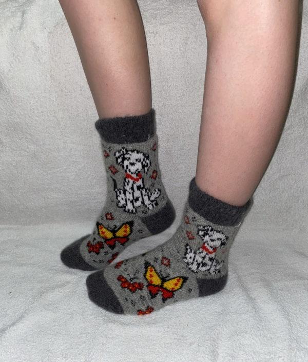 J-15. Женские шерстяные носки