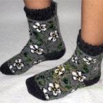 j-16 Женские шерстяные носки