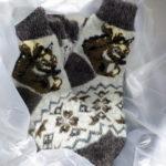 J-5 Женские шерстяные носки