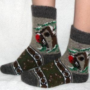 J-9 Женские шерстяные носки