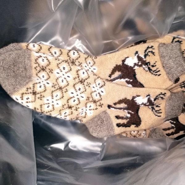 M-10 Мужские шерстяные носки