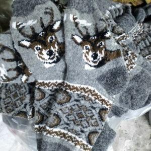M-11 Мужские шерстяные носки