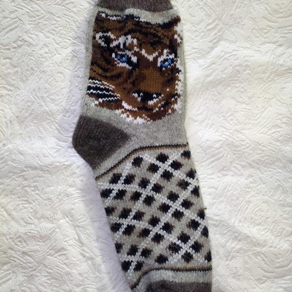 M-13 Мужские шерстяные носки