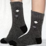 M-6 Мужские шерстяные носки