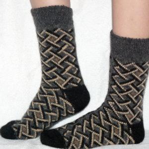 M-8 Мужские шерстяные носки