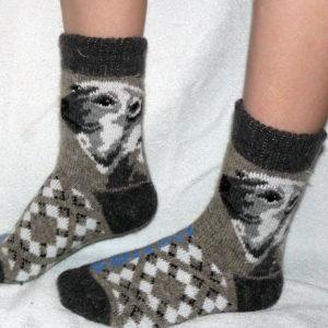M-9 Мужские шерстяные носки