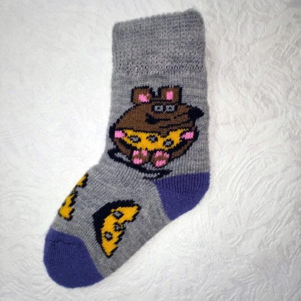 Детские шерстяные носки. Модель «D-1»