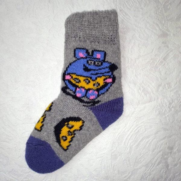 D-1. Детские шерстяные носки