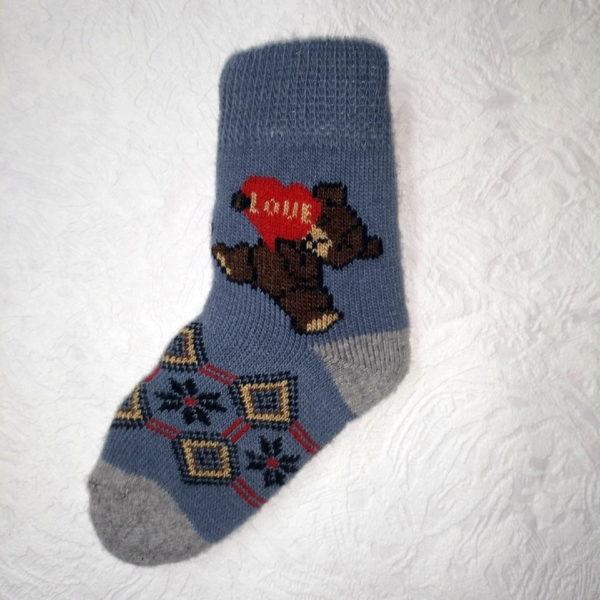 D-10 Детские шерстяные носки