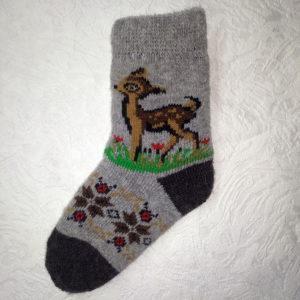 d-13. Детские шерстяные носки