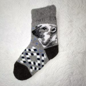 D-3 Детские шерстяные носки