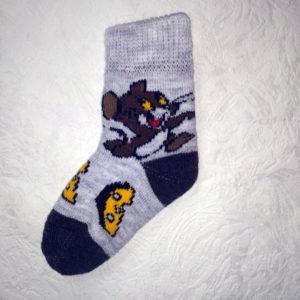D-8 Детские шерстяные носки