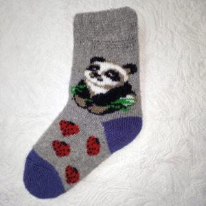 D-9 Детские шерстяные носки