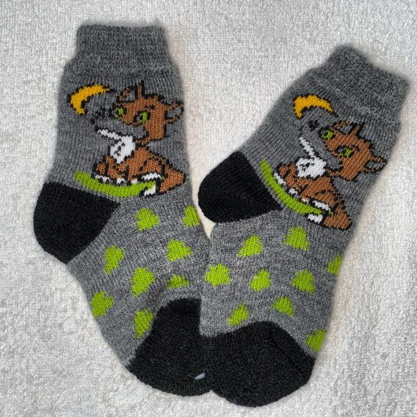 Детские шерстяные носки D-16