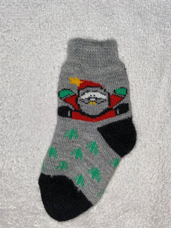Детские шерстяные носки D-18