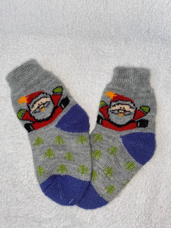 Детские шерстяные носки D-21