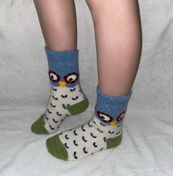 Женские шерстяные носки. Модель «J-17»