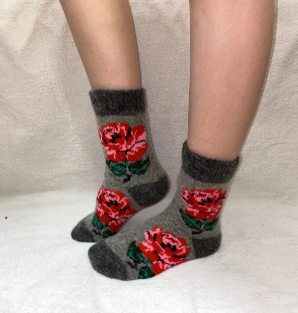 Женские шерстяные носки. Модель «J-19»