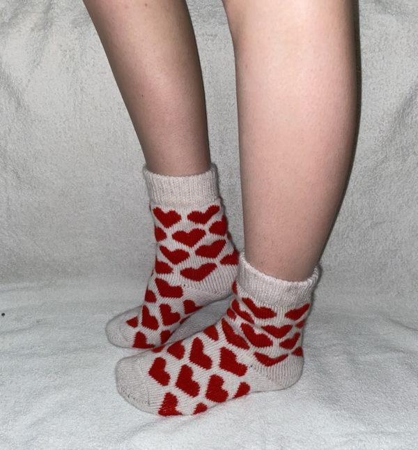 J-20. Женские шерстяные носки
