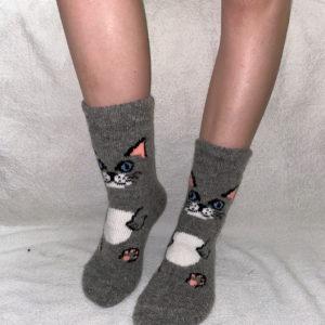 J-21. Женские шерстяные носки