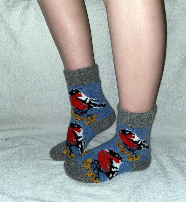J-23. Женские шерстяные носки