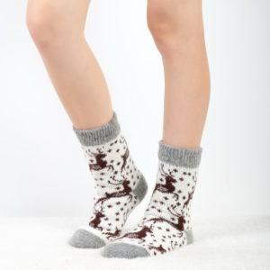 J-27. Женские шерстяные носки