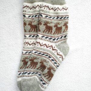 Женские шерстяные носки. Модель J-18