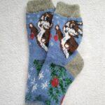 Женские шерстяные носки. Модель J-22