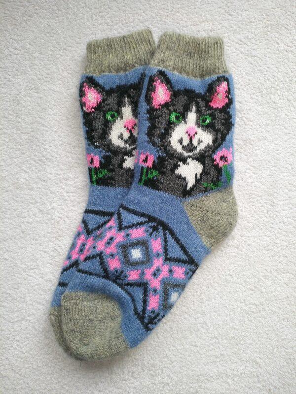 Женские шерстяные носки. Модель J-24