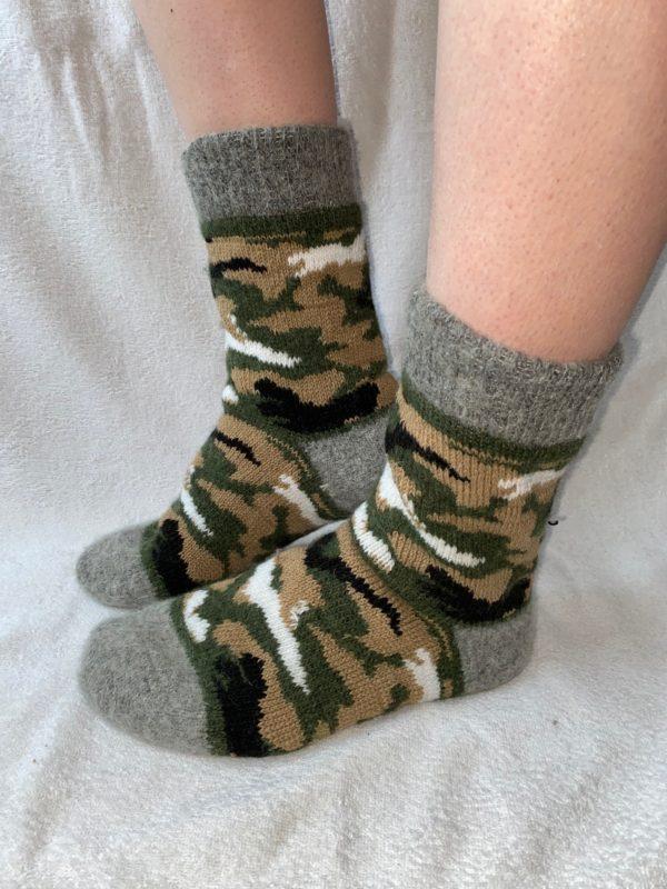 Мужские шерстяные носки. Модель M-14