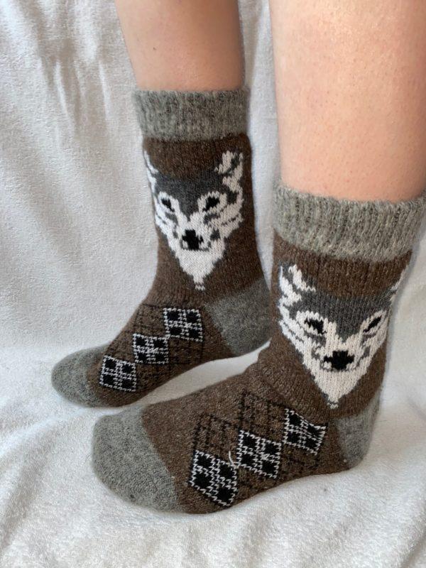 Мужские шерстяные носки. Модель M-15
