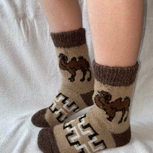 Мужские шерстяные носки. Модель M-16