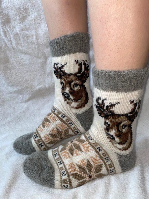 Мужские шерстяные носки. Модель M-19