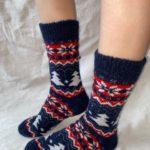Мужские шерстяные носки. Модель M-21