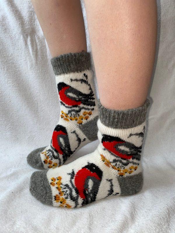 Женские шерстяные носки. Модель J-31