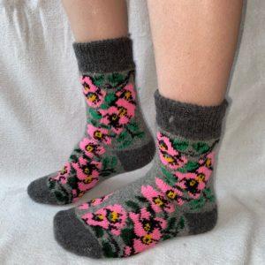 Женские шерстяные носки. Модель J-33