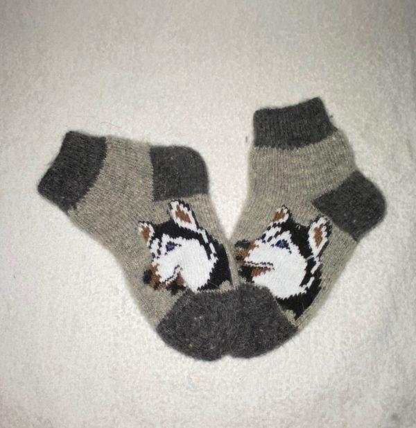 Подростковые шерстяные носки. Модель P-13