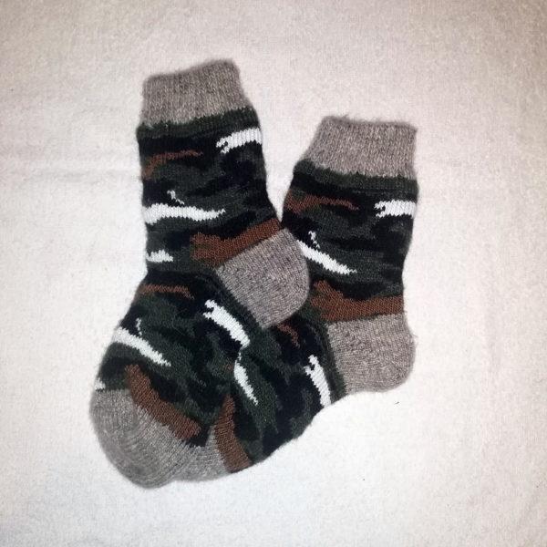 Подростковые шерстяные носки. Модель P-14