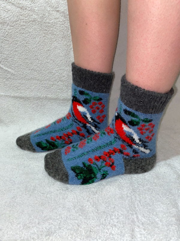 Женские шерстяные носки. Модель J-40