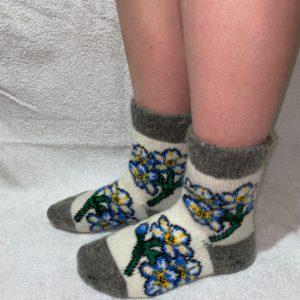 Женские шерстяные носки. Модель J-42
