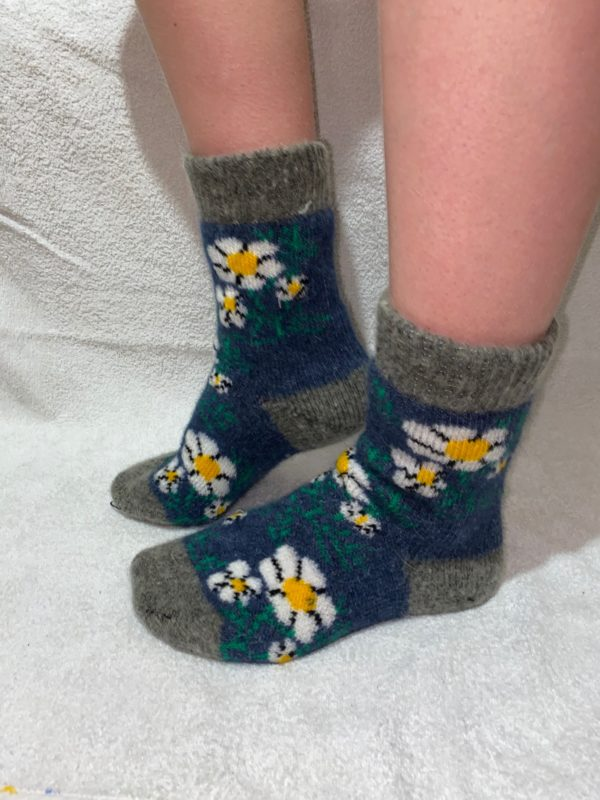 Женские шерстяные носки. Модель J-43