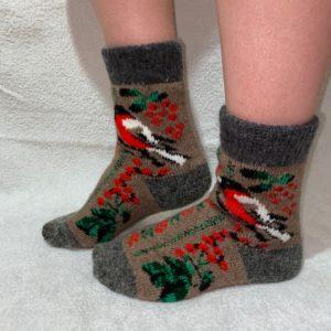 Женские шерстяные носки. Модель J-48