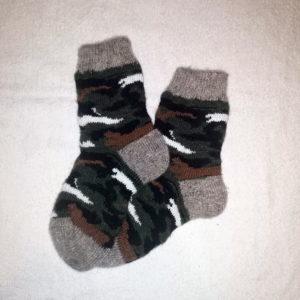 Женские шерстяные носки. Модель J-49