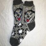 Мужские шерстяные носки. Модель M-26