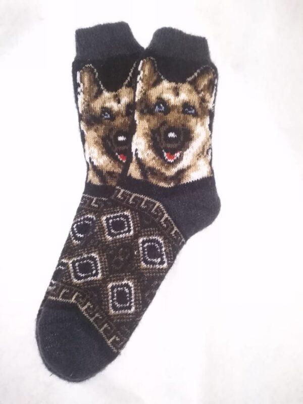 Мужские шерстяные носки. Модель M-35